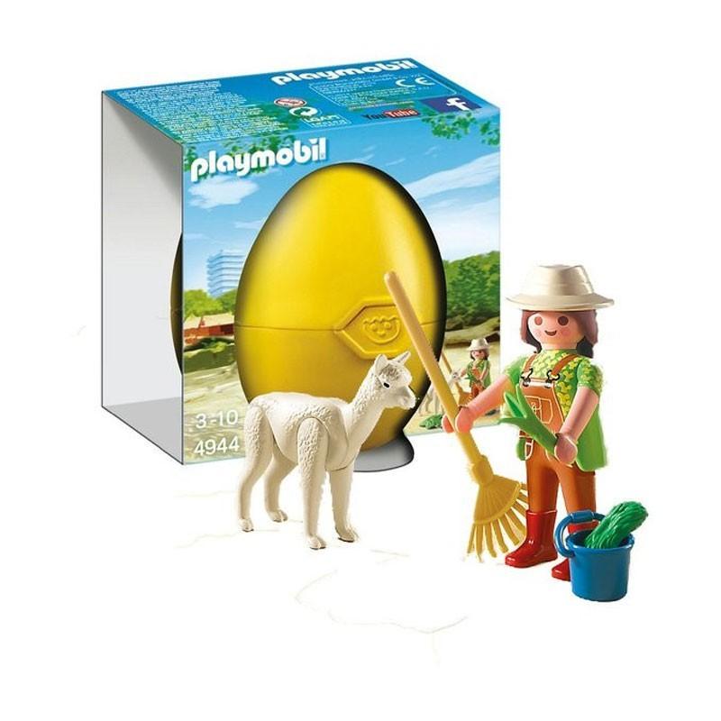 Playmobil 4944. Cuidadora con Alpaca