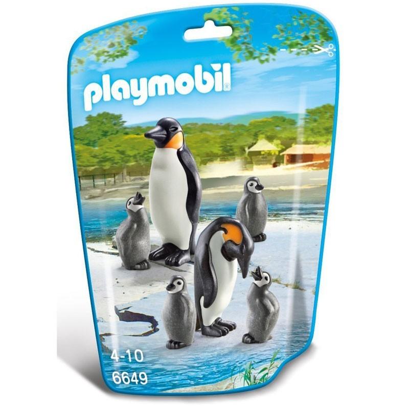 Playmobil 6649. Familia de Pingüinos