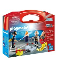 Playmobil 5651. Maletín Grande de Bomberos