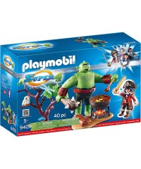 Playmobil 9409. Ogro con Ruby