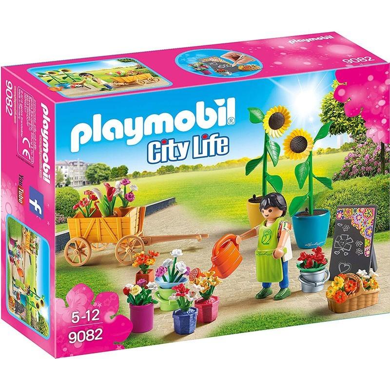 Playmobil 9082. Tienda de Flores