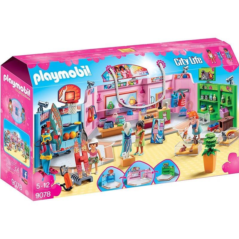 Playmobil 9078. Paseo Comercial 3 Tiendas