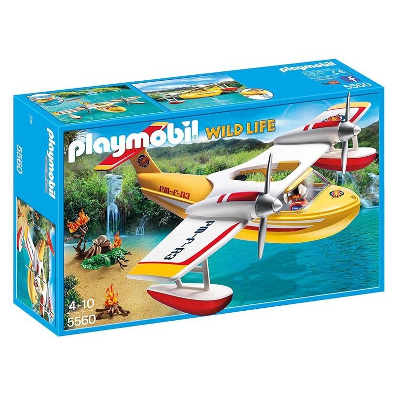 Playmobil 5560. Hidroavión de Extinción de Incendios