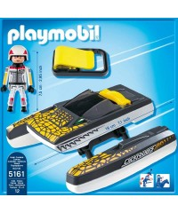 Playmobil 5161. Lancha Croc