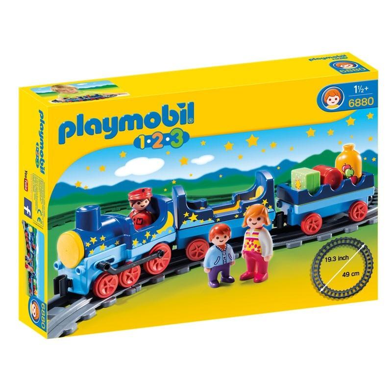 Playmobil 6880. Tren con Vías