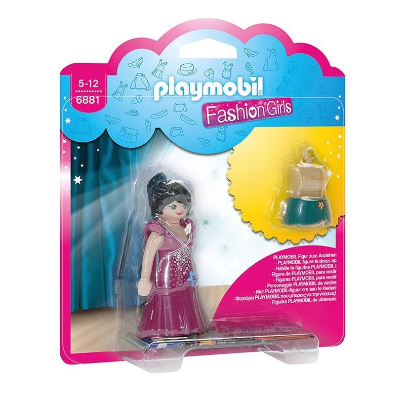 Playmobil 6881. Chica con Vestido de Fiesta