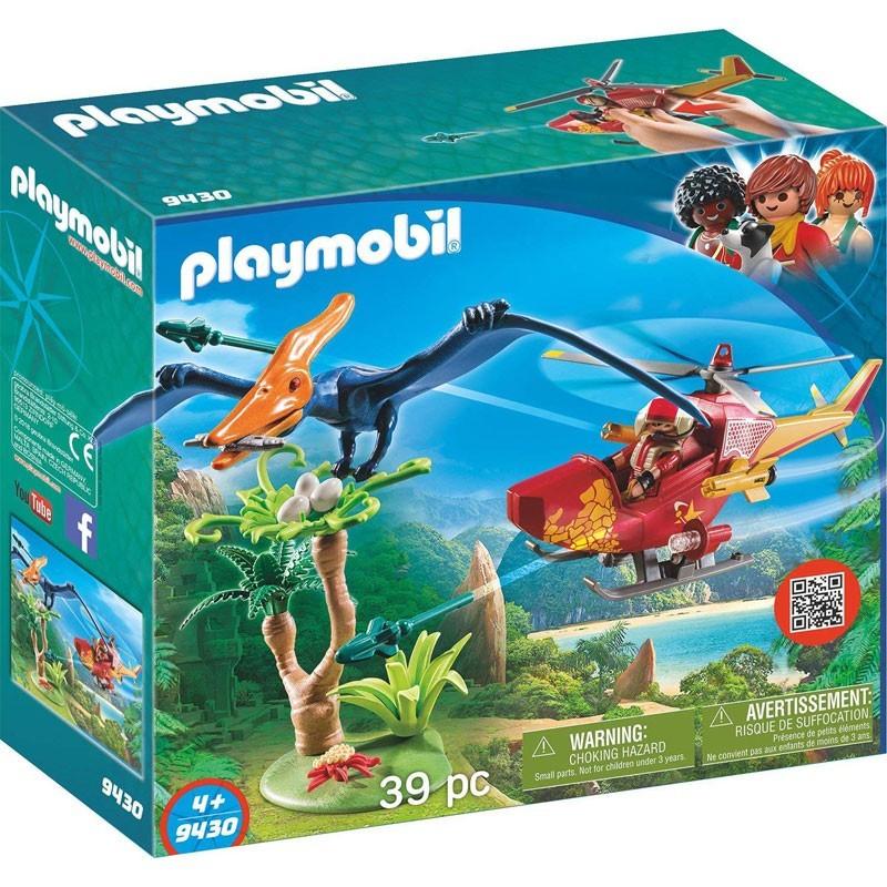 Playmobil 9430. Helicóptero con Pterosaurio
