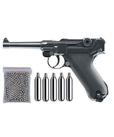 Umarex 10358135. Pack Pistola Luger P08 Metal 29318/38123