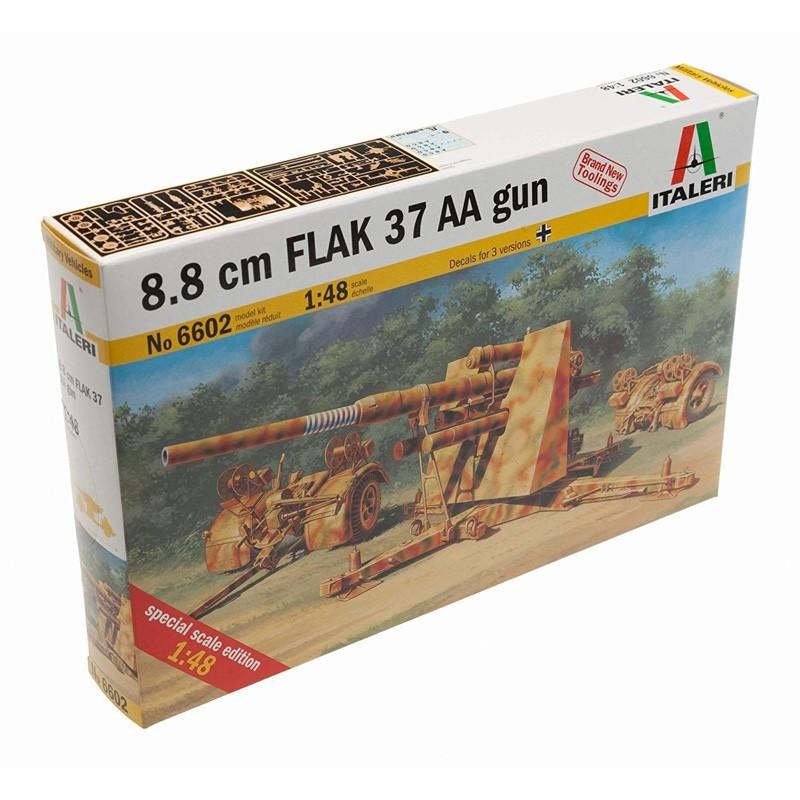 Italeri 6602. 1/48 Cañón 88mm FLAK 37 AA GUN