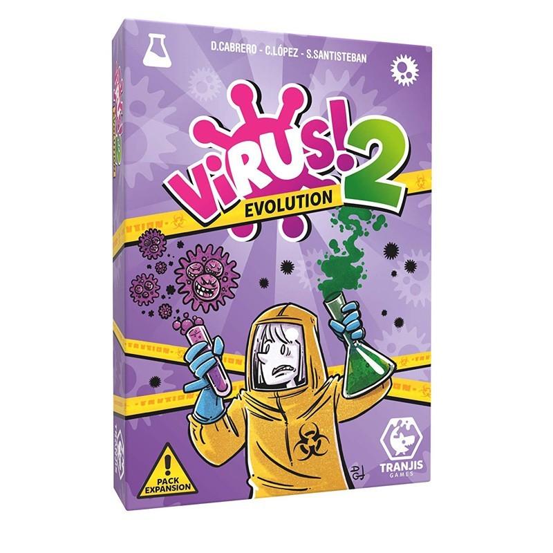 Tranjis TRG12EVO. Virus! 2 Evolution