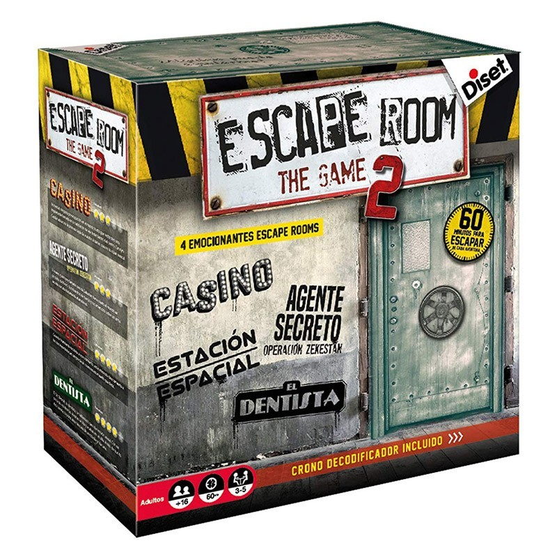 Diset 62326. Escape Room 2 The Game