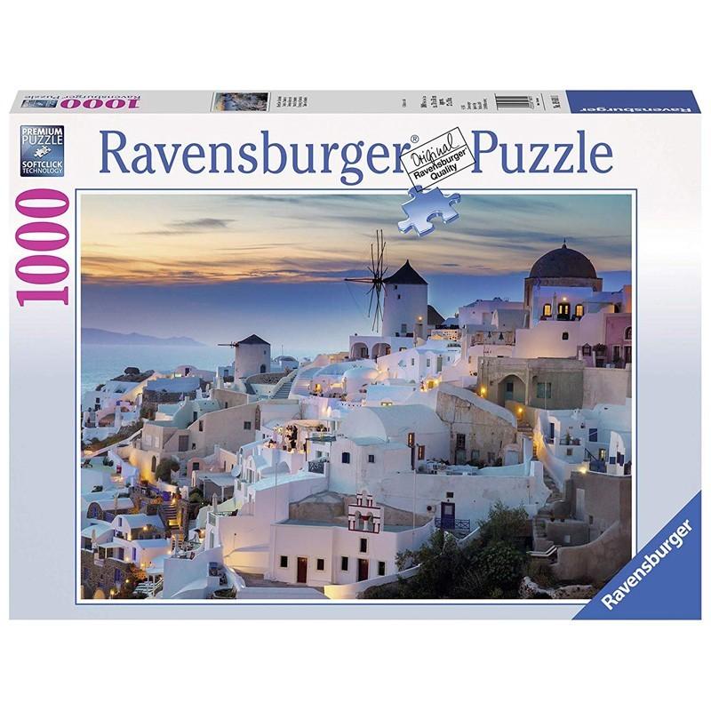 Ravensburger 19611. Puzzle 1000 Piezas Santorini