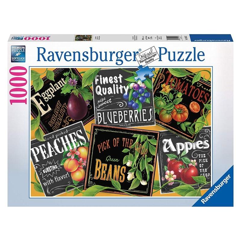 Ravensburger 19523. Puzzle 1000 Piezas El Mercado