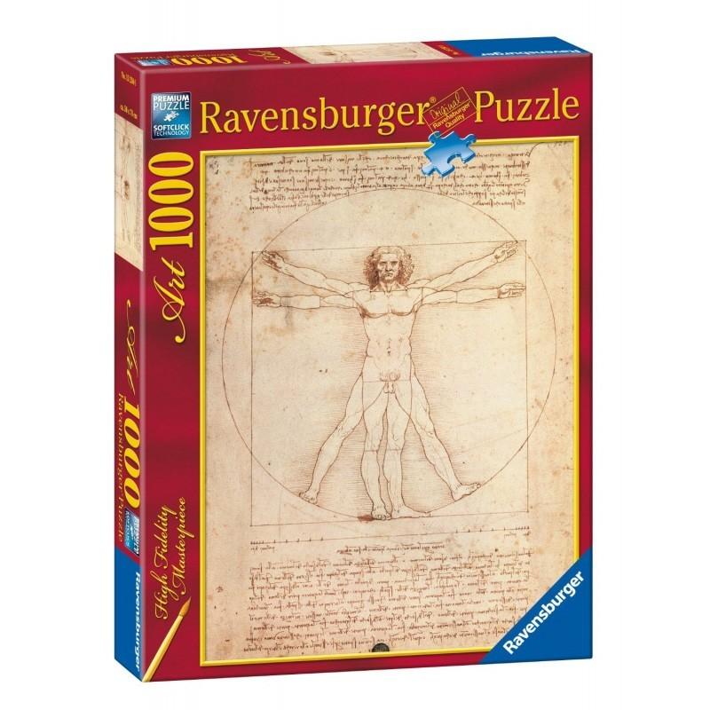 Ravensburger 15250. Puzzle 1000 Piezas Hombre de Vitruvio