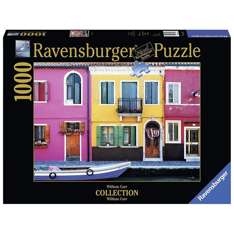 Ravensburger 19865. Puzzle 1000 Piezas Calle Graziella