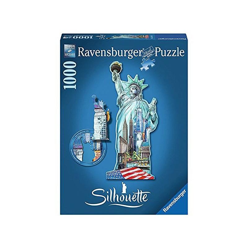 Ravensburger 16151. Puzzle 1000 Piezas Estatua de la Libertad