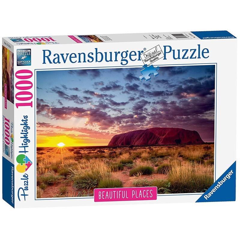 Ravensburger 15155. Puzzle 1000 Piezas Ayes Rock