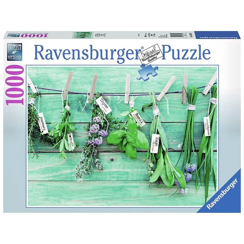 Ravensburger 19612. Puzzle 1000 Piezas Hierbas Aromáticas