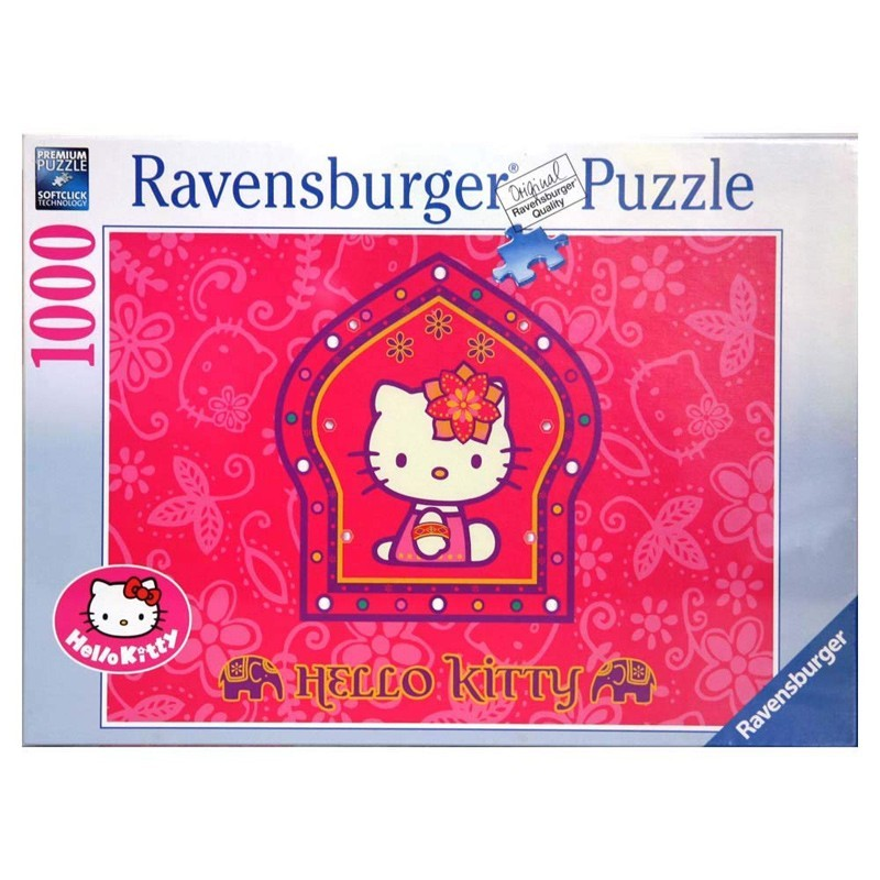 191956. Puzzle Ravensburger 1000 pzas Hello Kitty: Princesa Indi