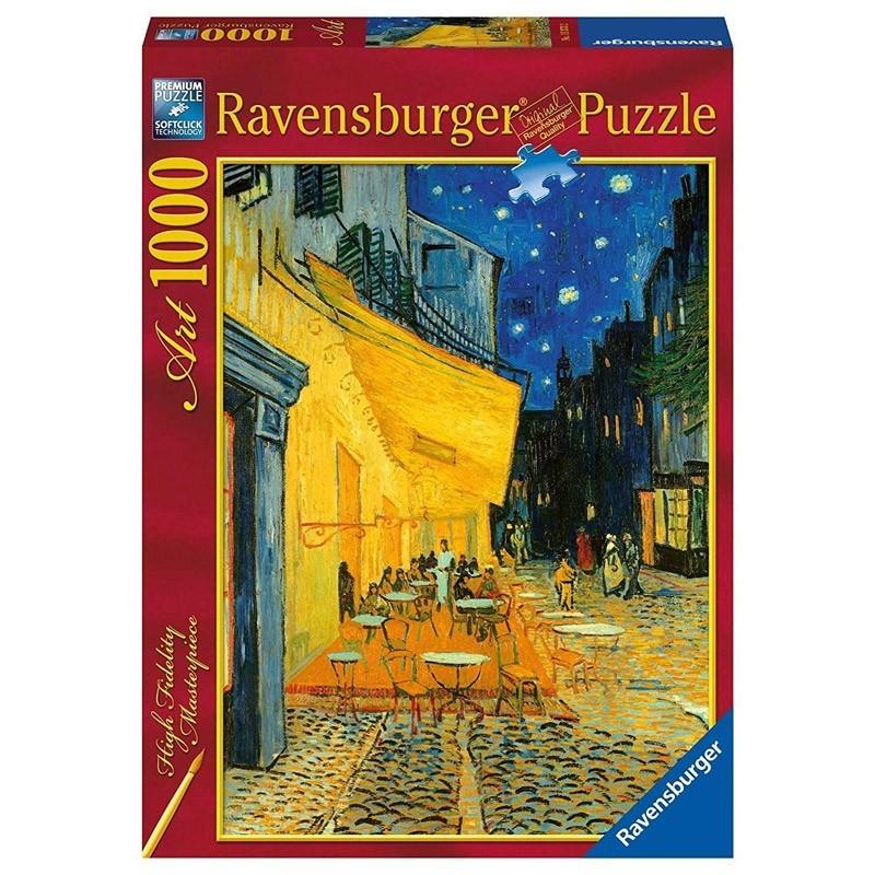 Ravensburger 15373. Puzzle 1000 Piezas Café de Noche Van Gogh