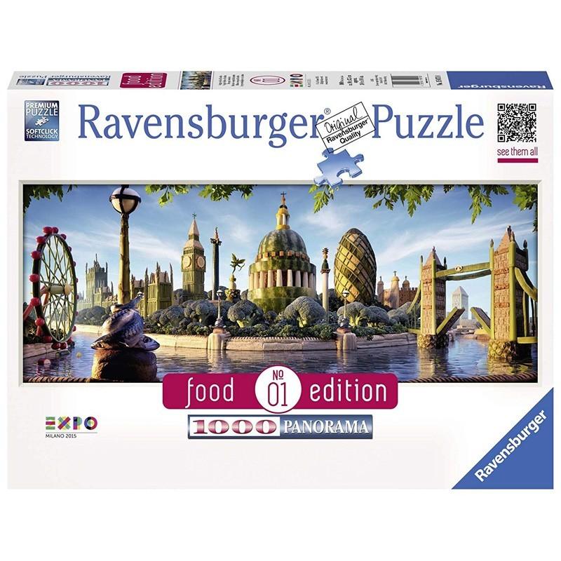 Ravensburger 15070. Puzzle 1000 Piezas Horizonte Vegetal de Londres