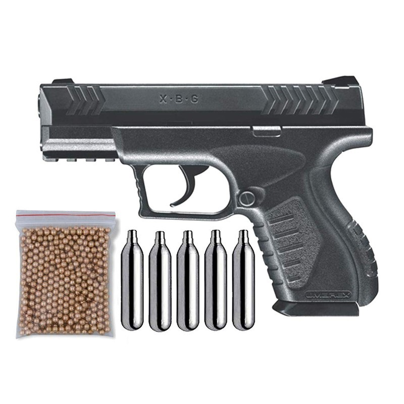 Umarex 103-5817. Pack Pistola Perdigón XBG 29318/38123