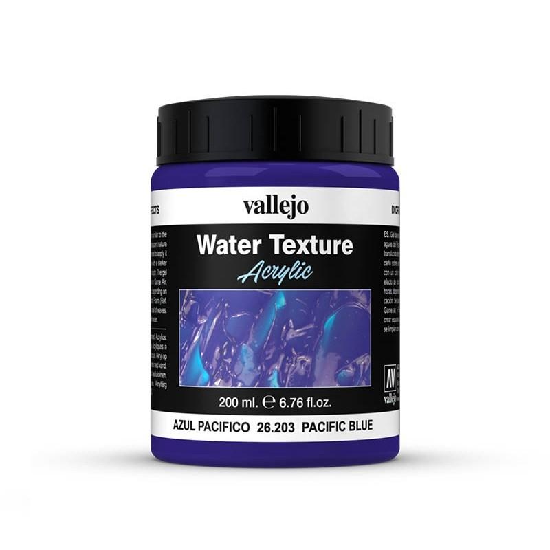 Vallejo 26203. Efecto Agua Azul Pacífico