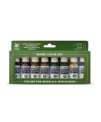 Vallejo 70108. Set Pinturas Panzer Colors