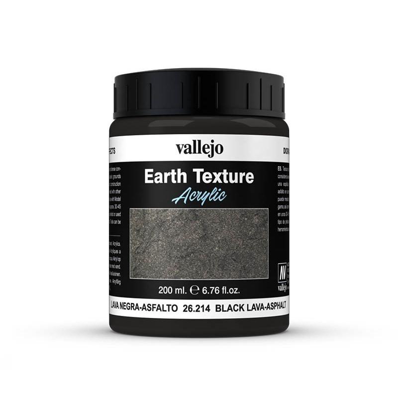 Vallejo 26214. Efecto Lava Negra-Asfalto
