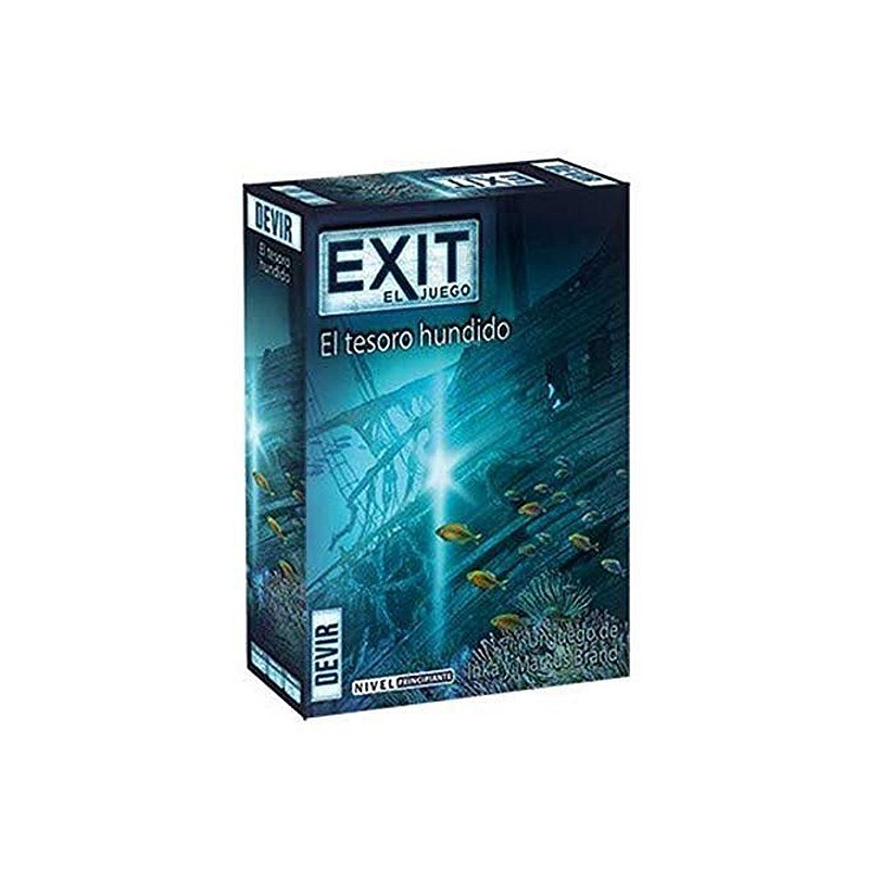 Devir BGEXIT7. El Tesoro Hundido