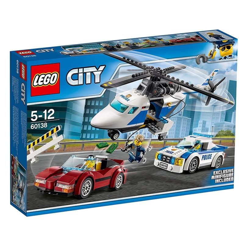 Lego 60138. Persecución por la Autopista