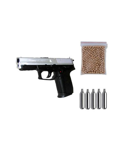 288210 Cybergun. Pack Pistola perdigón Sig Sauer SP2022 Cal.4,5m