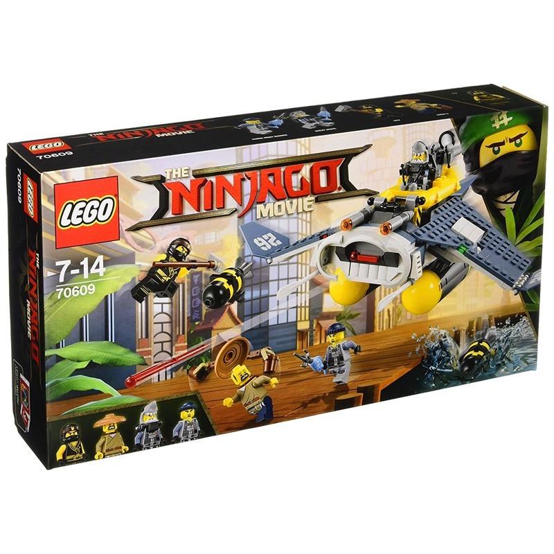 Lego 70609. Bombardero Mantarraya