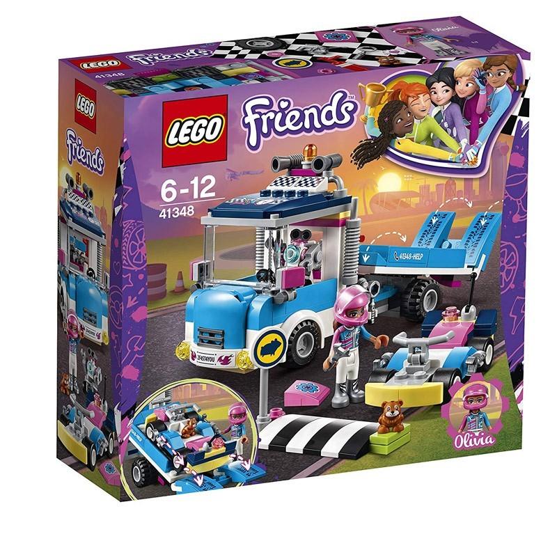 Lego 41348. Camión Asistencia y Mantenimiento