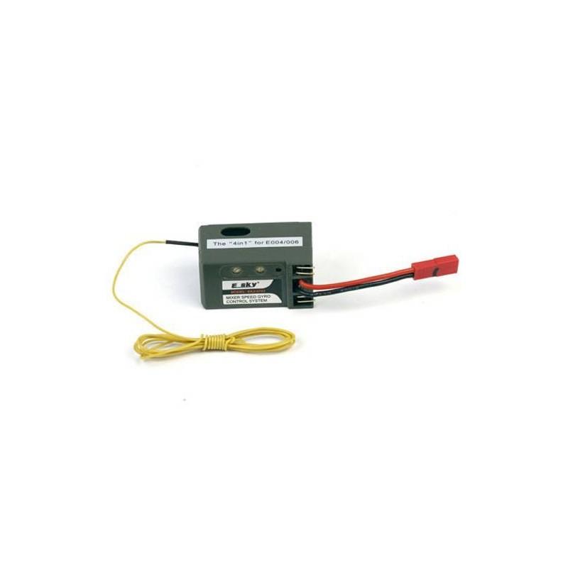 EK2-0702. Giroscopo-Receptor 4 en 1, 35 Mhz