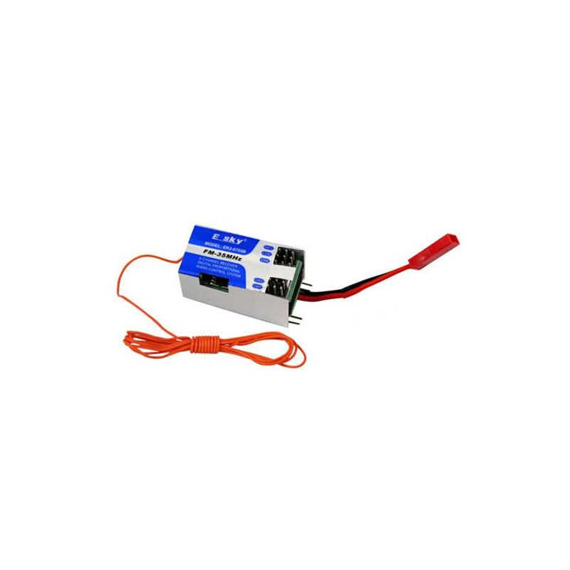 EK2-0705B. Giroscopo-Receptor 4 en 1 35 Mhz