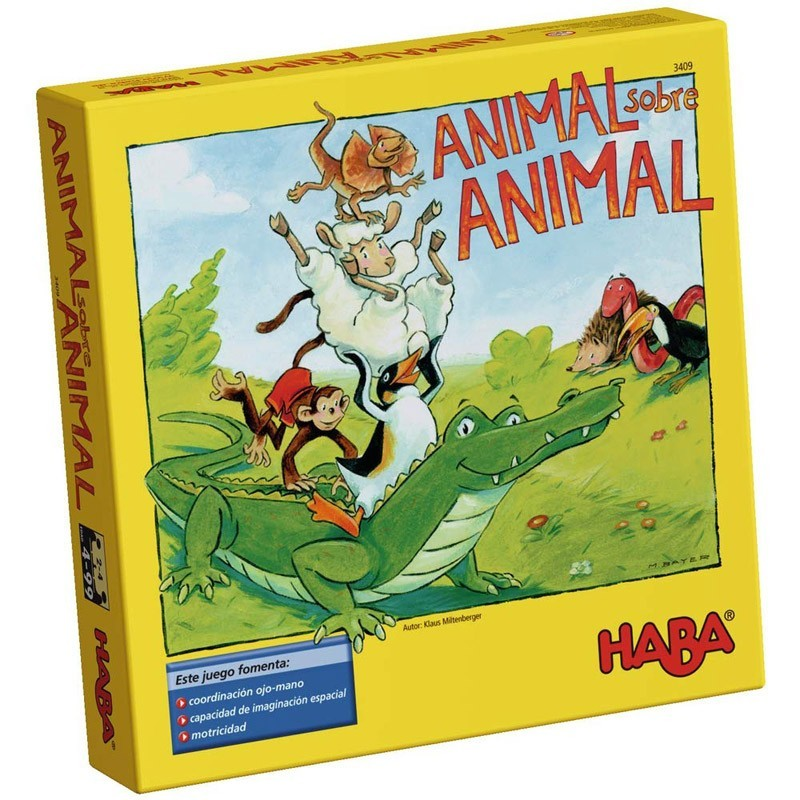 Haba 3409. Animal Sobre Animal