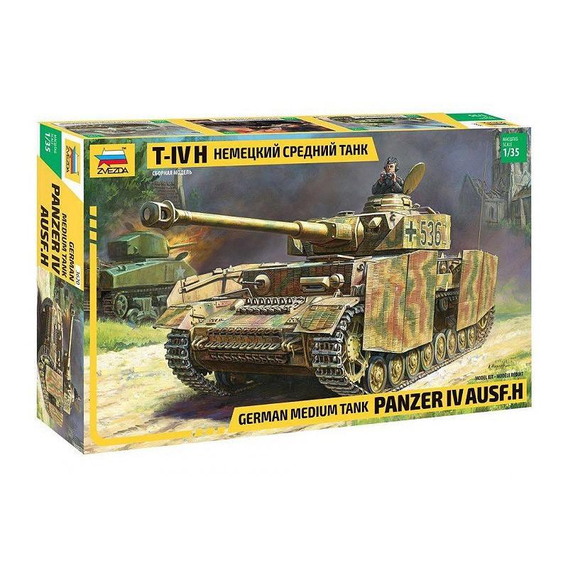 Zvezda 3620. 1/35 Panzer IV Ausf. H