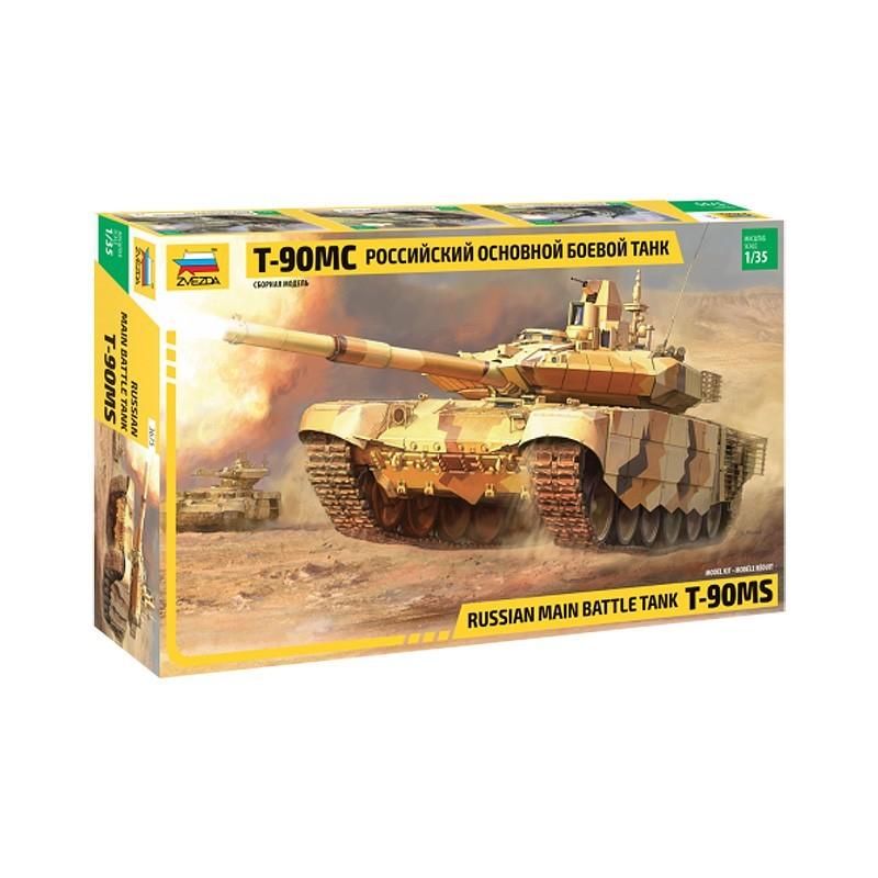 Zvezda 3675. 1/35 Tanque T-90MS