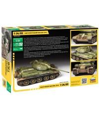 Zvezda 3687. 1/35 Tanque T-34/85 mod.1944