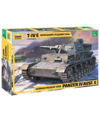 Zvezda 3641. 1/35 Panzer IV Ausf. E