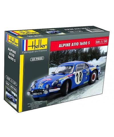 Heller 80745. 1/24 Coche Renault Alpine A110 1600S