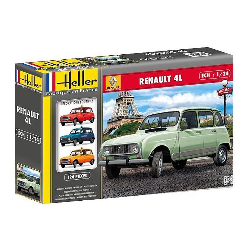 Heller 80759. 1/24 Coche Renault 4L