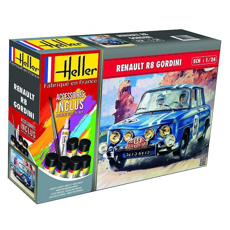Heller 56700. 1/24 Kit Coche Renault R8 Gordini