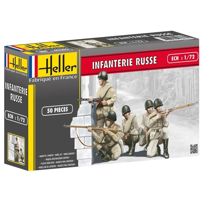 Heller 49603. 1/72 Infantería Rusa
