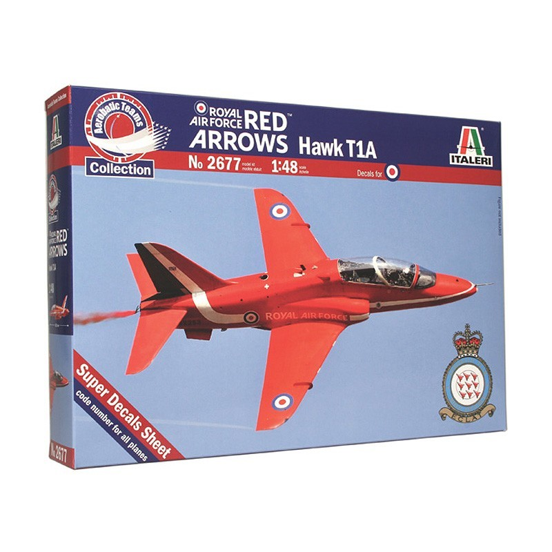 Italeri 2677. 1/48 Avión Hawk T1A Red Arrows