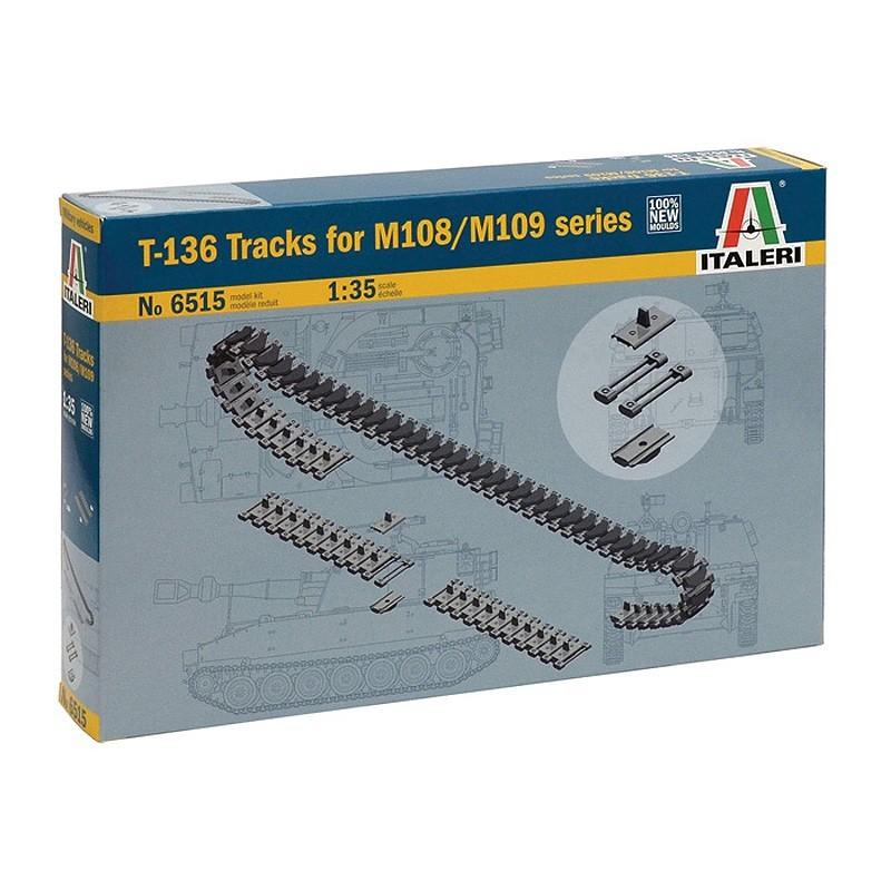 Italeri 6515. 1/35 Cadenas T-136 M108/M109