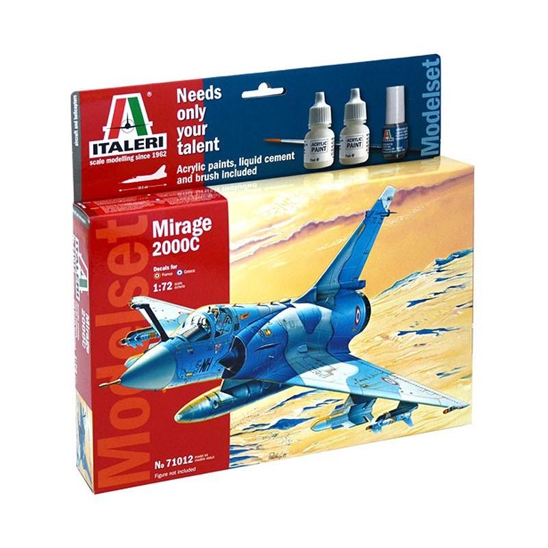 Italeri 71012. 1/72 Kit Mirage 2000C