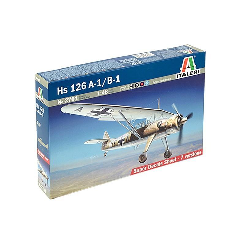 Italeri 2701. 1/48 Avión Henschel Hs126 A-1/B1