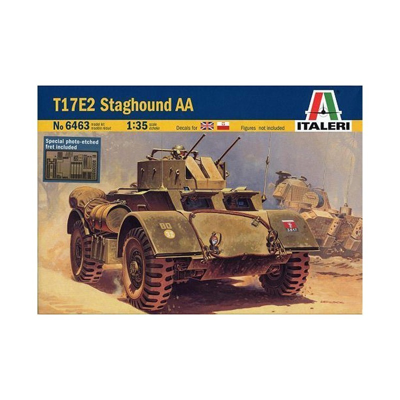 Italeri 6463. 1/35 Blindado T17E2 Staghound AA